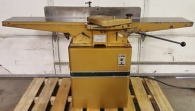 "Powermatic 60 Jointer, 8"" Cap. 2HP, 3PH, 220V, 64"" Table, Cleaned, Checked"