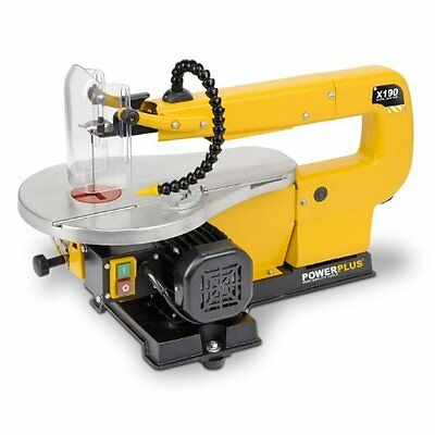 Powerplus 410mm, 85 Watt Craft Scroll Saw 240v Fitted with Dust Blower and Table