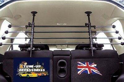 FORD COUGAR 98-02 Heavy Duty Deluxe Headrest Dog Guard Barrier