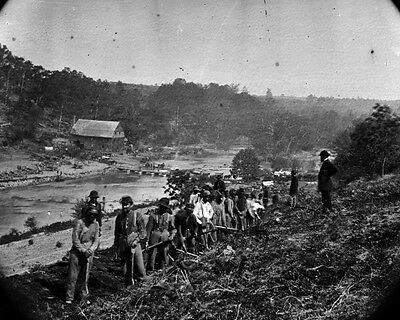 New 11x14 Civil War Photo: 50th New York Engineers at Jericho Mills, Virginia