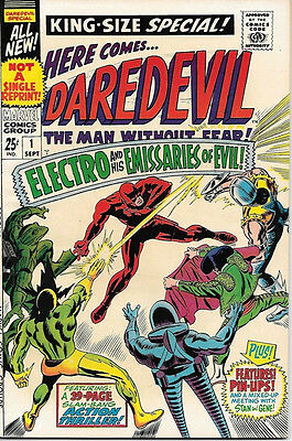Daredevil King-Size Special Comic Book #1 Marvel Comics 1967 VERY FINE/NEAR MINT