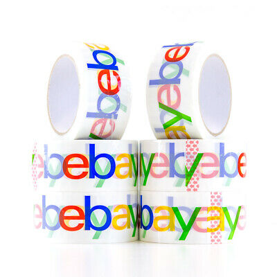 Official eBay Branded Packaging Tape – 68meter x 50mm 56u Packing Tape