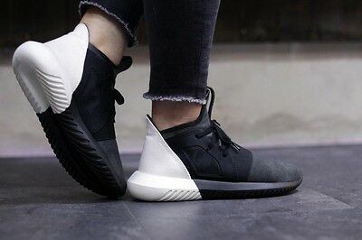 Adidas Originals Tubular Defiant S75247 Black White Pick Your Size 4 to 10