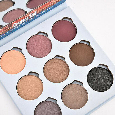 Makeup Glitter Smoked Natural Eyeshadow Palette Eyeliner with Cosmetic