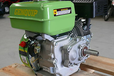 NEW 6.5HP NEW GENQUIP PETROL ENGINE OHV 4-STROKE with 19mm SHAFT