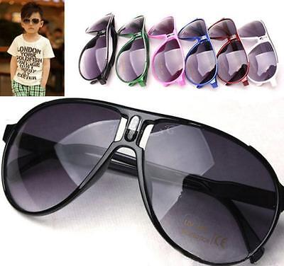 Cool Children Girl Boy Baby Kids PC Frame AC Lens UV 400 Sunglasses Goggles AUIB