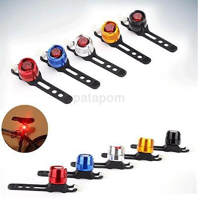 Flashing Bike Cycling LED Rear Safety Light Warning Tail Lamp Waterproof New US