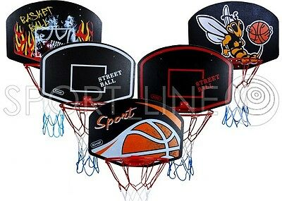 Basketballkorb Kinder Basketball Korb Basketballring Netz Set Miniboard