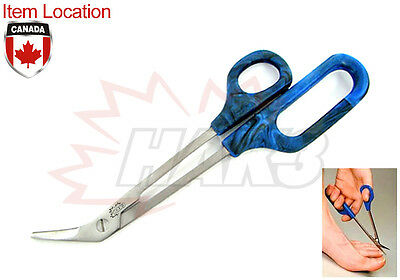 Toe Nail Clippers Scissors Long Reach Manicure Pedicure Chiropody