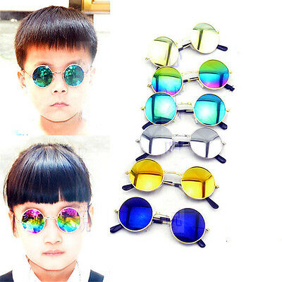 Children Kids UV Protection Sunglasses Round Lens Sunglasses Baby Goggles Shades