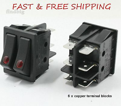 Canal R Series Electric Space Heater Rocker Switch Lakewood Delonghi 16A 20A
