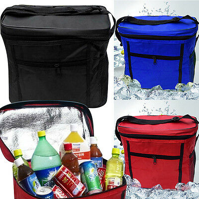 Picnic Lunch Box Thermal Insulated Cooler Bag Ice Wine Travel Bento Carry Tote