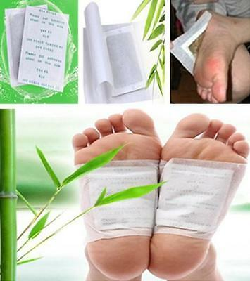 Hot 10PCS Detox Foot Pads Patch Detoxify Toxin Adhesive Keeping Fit Healthy
