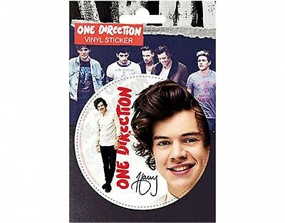 ONE DIRECTION harry 2013 circular VINYL STICKER official licensed merchandise 1D