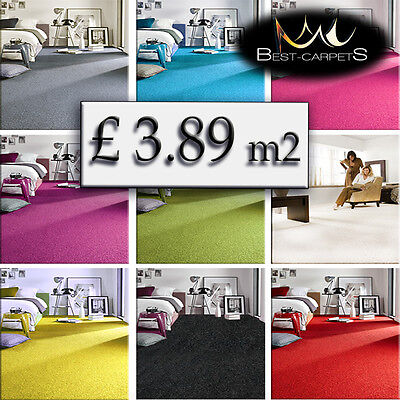 CHEAP & QUALITY CARPETS Feltback twist Bedroom width 4m Large RUGS ANY SIZE