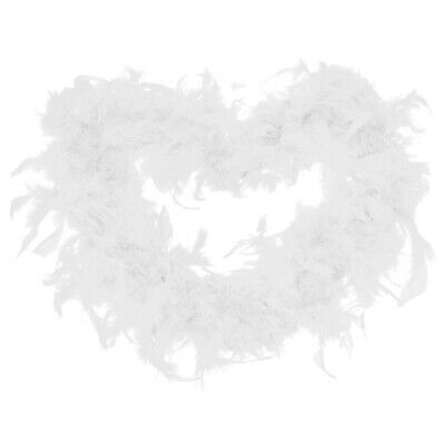 2m Quality Feather Boa Burlesque 20s Dance Hen Night Fancy Dress Accessory