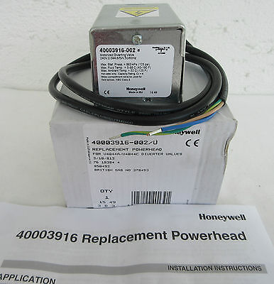 Honeywell Replacement Power Head 40003916-002/U