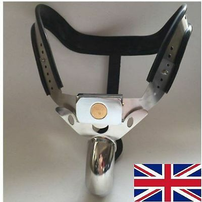 Male Chastity Belt Device Stainless Steel high hip's new for 2016 65 - 110cms