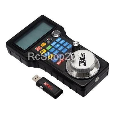 CNC Wireless MPG MACH3 Remote Controller WHB04-L 40M w/ Electronic Handwheel