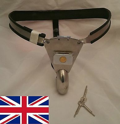 Male Chastity Belt Device Stainless Steel new for 2016 65 - 110cms