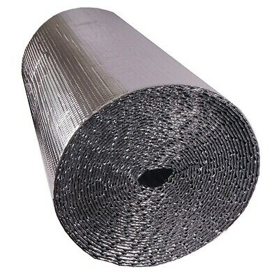 Silver Double Foil with Single/Double Bubble Insulation all sizes available