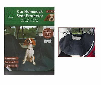 CRUFTS LARGE DOG DURABLE WATERPROOF CAR HAMMOCK SEAT PROTECTOR COVER 145x145CM