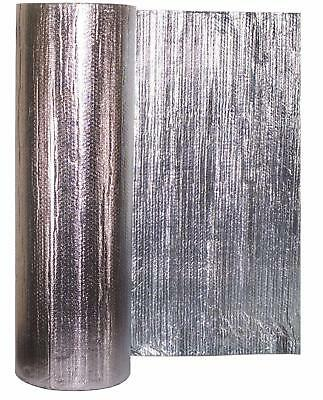 Silver MP Double Foil with Single/Double Bubble Insulation all sizes available