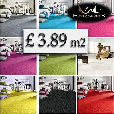 CHEAP & QUALITY CARPETS Feltback twist Bedroom width 5m Large RUGS ANY SIZE