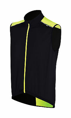 BBB Corsavest Cycling Bike Gilet Black and Neon Yellow XL RRP £45