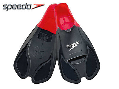 *brand New* Speedo - Biofuse Training Fins - Multiple Sizes - Black/red