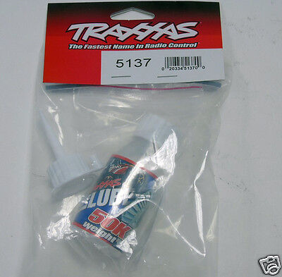 5137 Traxxas R/C Car Parts Differential Oil Lube 50K Weight 1/16 Size Brand New