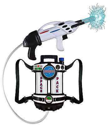 Water Gun Blaster Astronaut Back Pack Super Soaker Space Pack Shoots 30 Feet Fun