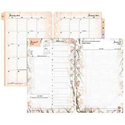 Franklin Covey Blooms Garden Design Classic Planner Refill Office Supplies New