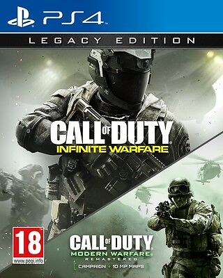 Call Of Duty Infinite Warfare Legacy Edition Ps4 Playstation 4 Nuovo Offerta