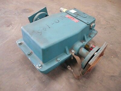 """USED Fisher & Porter 10D1418A 1"""" Magnetic Flowmeter 70 GPM"""
