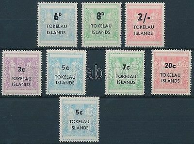 Tokelau Islands stamp 1966-1967 Postage due 2 sets 1966 MNH Mi 1-7 Mi 5 WS210377