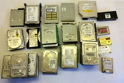 Lot of 44  Mixed Model Hard Drives Some Lab Tops Some Desk Tops