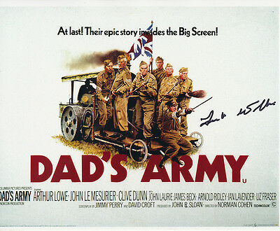 Dad's Army In Person Signed Poster Photo - A815 - Frank Williams