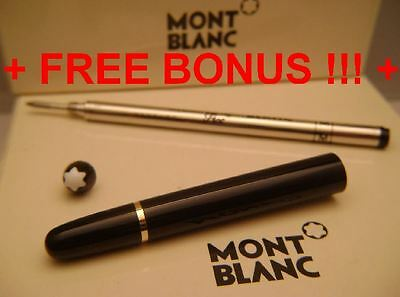 Parts Replacement Pen Barrel Gold Trim Montblanc for 144 &163 Rollerball+FREE