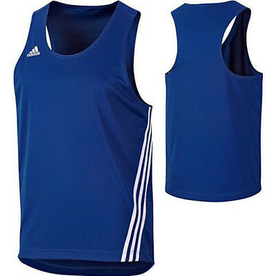 Adidas Base Punch Top Boxing Vest Blue