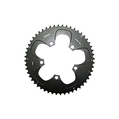 SRAM -Road Chainring Road 52t 5 Bolt 110mm BCD Alum (52-36 52-38) Re (CRS52RB)
