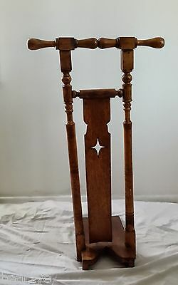 Early American Oak Standing Bootjack, Boot Puller