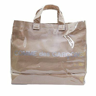 NEW COMME des GARCONS PVC Tote Bag 100% Authentic Made in Japan With Tracking