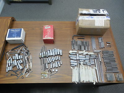 Large Lot Of Micrometer Thimbles Spindles Shafts & Other Misc Pcs Parts 2 Repair