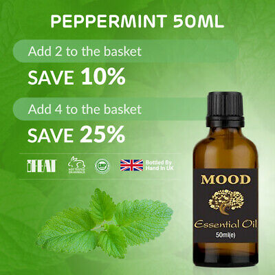 Peppermint Essential Oil - 50ml - Aromatherapy