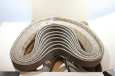 "(2) 2"" x 60"" 3M Scotch-Brite Surface Conditioning Blending Cleaning Belt Coarse"