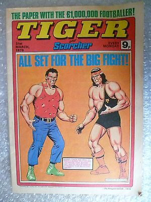 Comic- Tiger and Scorcher Comic, 31st March 1976