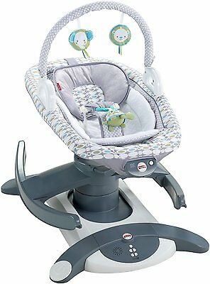 Fisher-Price Baby Infant Cradle Swing Rocker Glider Soother Sideways Music