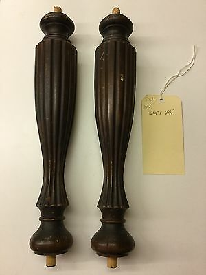 Victorian Carved Reeded Columns Salvage SA21