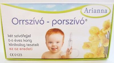 Arianna Baby Vac Nose Cleaner Nasal Aspirator suctioning device Infants Children